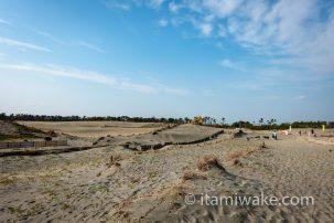 愛知県にも砂丘があった!?稲沢市で祖父江砂丘を見る。小規模だが国内では珍しい河畔砂丘