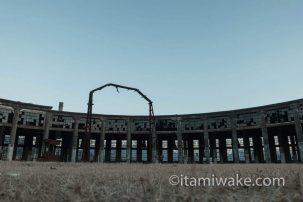 悲劇の砲台「丹賀砲台園地」を見に大分県佐伯市へ!ドームと螺旋階段が美しい