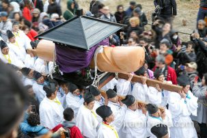 巨大な男性器・女性器が並ぶ宮崎県小林市の陰陽石