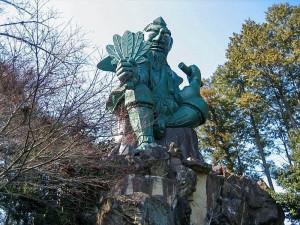 三ヶ根山スカイラインにある「おみやげ屋廃墟」